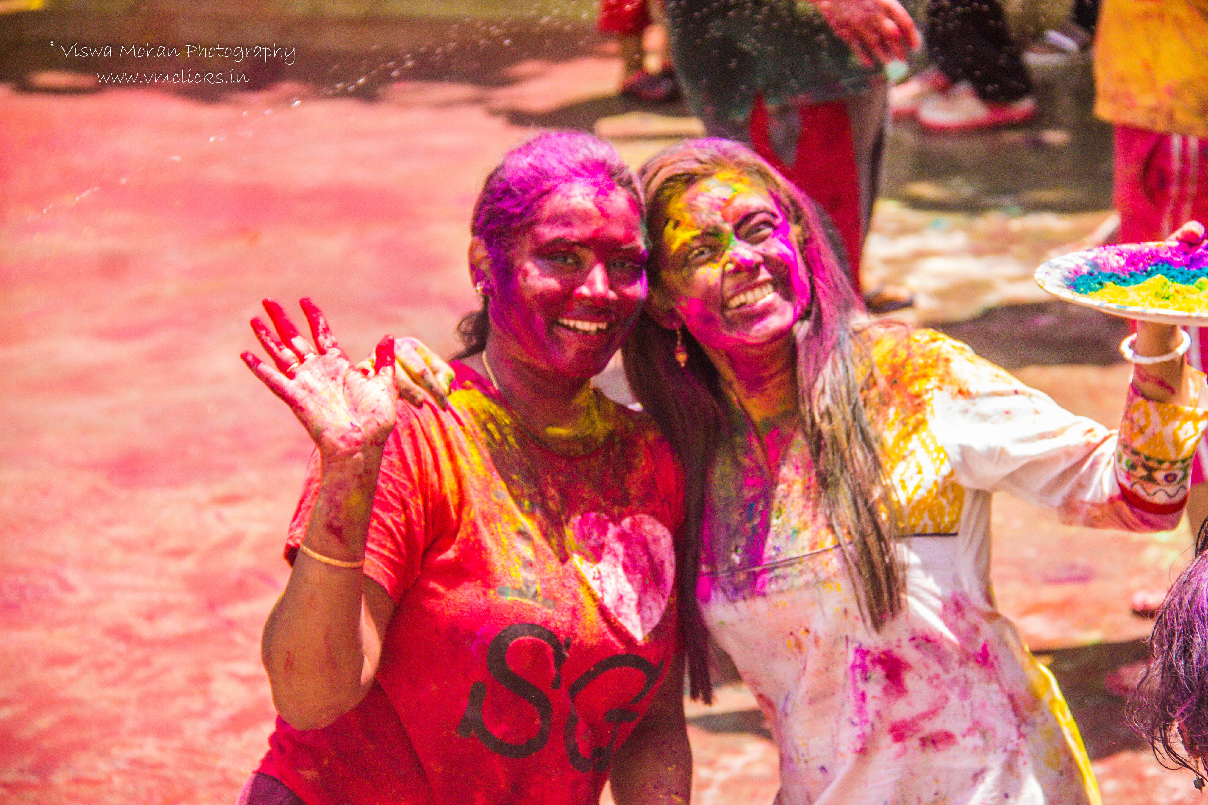 Indian Ladies @ Holi Celebrations 2019