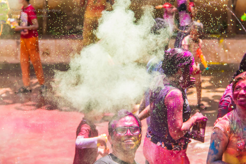 Colours in the air @ Holi Celebrations 2019