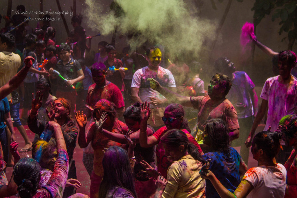 Holi Celebrations @ Mantri Alpyne Apartments